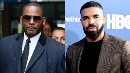 R. Kelly leaving the Leighton Criminal Court Building and Drake at LA Premiere of HBO's