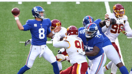 The New York Giants and Washington Football Team kick off Week 2 of the NFL season
