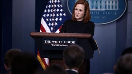jen psaki in white house press room