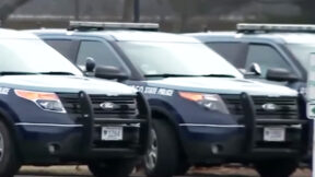 MA State Police cars pictured