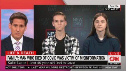 Children Blame Dad's Covid Death on Tucker Carlson