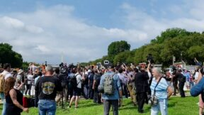Pro-Rioter 'Justice for J6' Rally Draws 'Dozens' of Atttendees, 'Hundreds' of Cameras