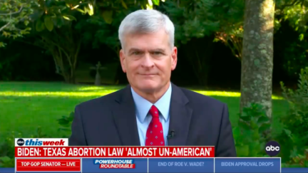 Sen. Bill Cassidy downplays Texas abortion law