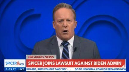 Sean Spicer addresses Jen Psaki after being dismissed from advisory board