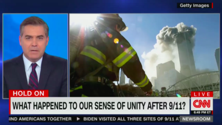 Jim Acosta speaks about unity on the 20th anniversary of 9/11