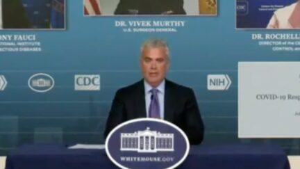 Jeff Zients WH Covid Response Team press briefing 9/17/2021
