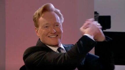 Conan O'Brien at the Emmys 2021