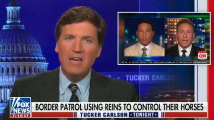 Tucker Carlson insults Chris Cuomo