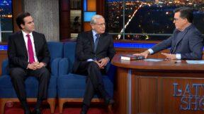 Bob Woodward and Robert Costa on Colbert