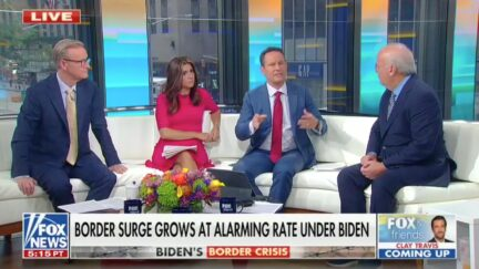 Fox's Brian Kilmeade Swats Down Replacement Theory From Rachel Campos-Duffy