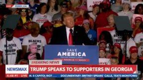 Trump Attacks Brian Kemp at GA Rally