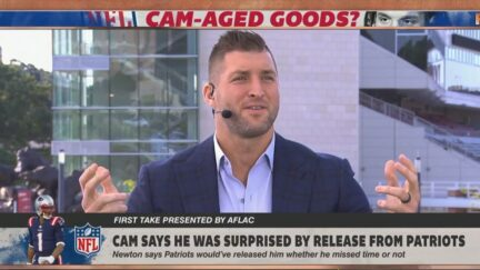 Tim Tebow defends Cam Newton's personality