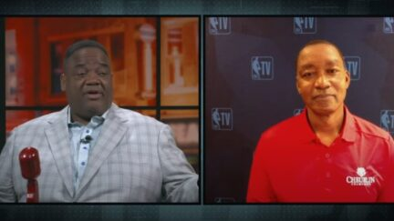 Jason Whitlock and Isiah Thomas discuss their opposition to a Black national anthem
