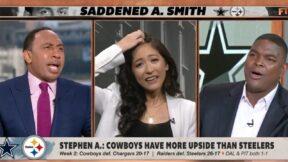 Stephen A. Smith drops half an f-bomb on ESPN