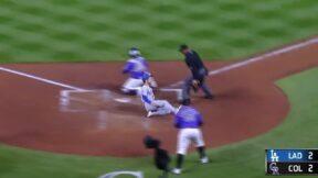 Trea Turner impresses baseball fans with majestic slide