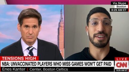 Enes Kanter expresses concerns over unvaccinated NBA players