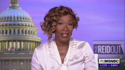 Joy Reid on MSNBC Monday night