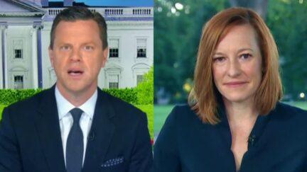 Willie Geist Confronts Jen Psaki Over Biden's Sinking Polls