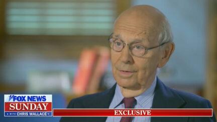 Justice Stephen Breyer Addresses Calls for His Retirement