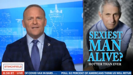 Grant Stinchfield Reacts to Fauci Being Deemed 'Sexiest Man Alive'