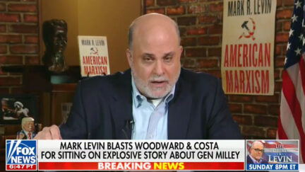 Mark Levin Rages at Woodward Book