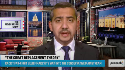 Mehdi Hasan Rips Tucker Carlson on Replacement Theory