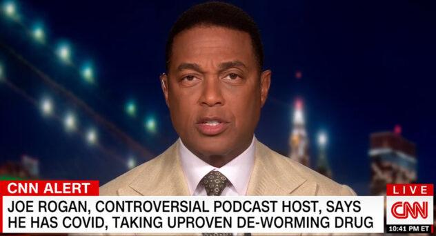 Don Lemon Says Joe Rogan Took Horse Dewormer