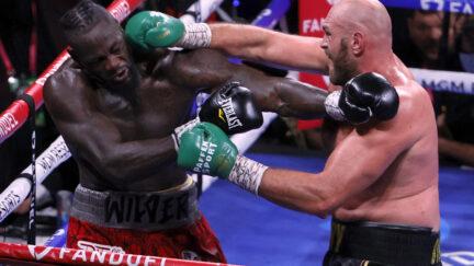 Tyson Fury-Deontay Wilder Post Fight Reaction