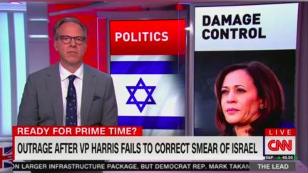 Tapper begins segment criticizing Kamala Harris
