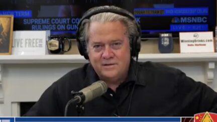 Steve Bannon on the War Room podcast
