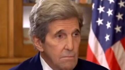 John Kerry interviewed by French TV