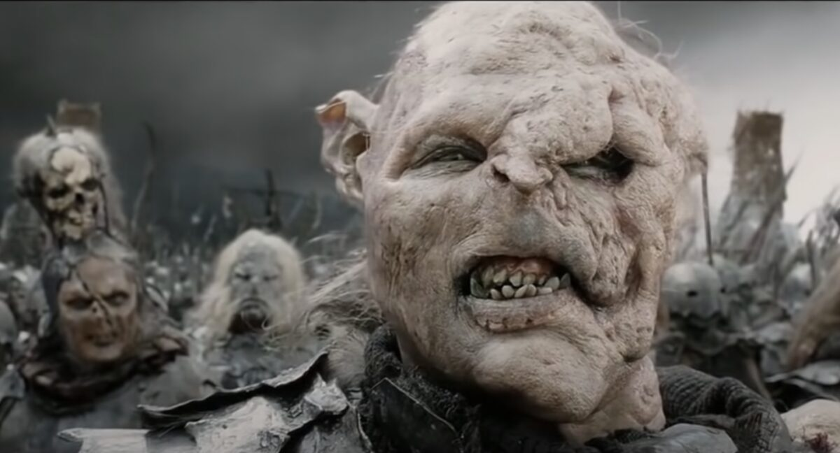 Orc modeled after Harvey Weinstein in Lord of the Rings