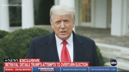 Trump Had His DNI Investigate Insane Election Conspiracy Theory