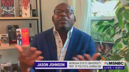 Jason Johnson criticizing Allen West