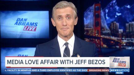 Dan Abrams Mocks Media Love Affair with Jeff Bezos
