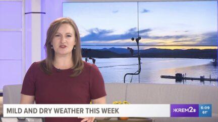 KREM Weather Report Porn