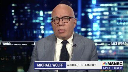 Michael Wolff on MSNBC