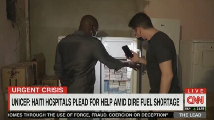 doctors without borders in haiti during fuel shortage