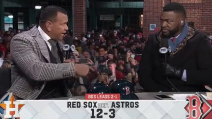 Fox MLB show drowned out by profane chants from Red Sox fans