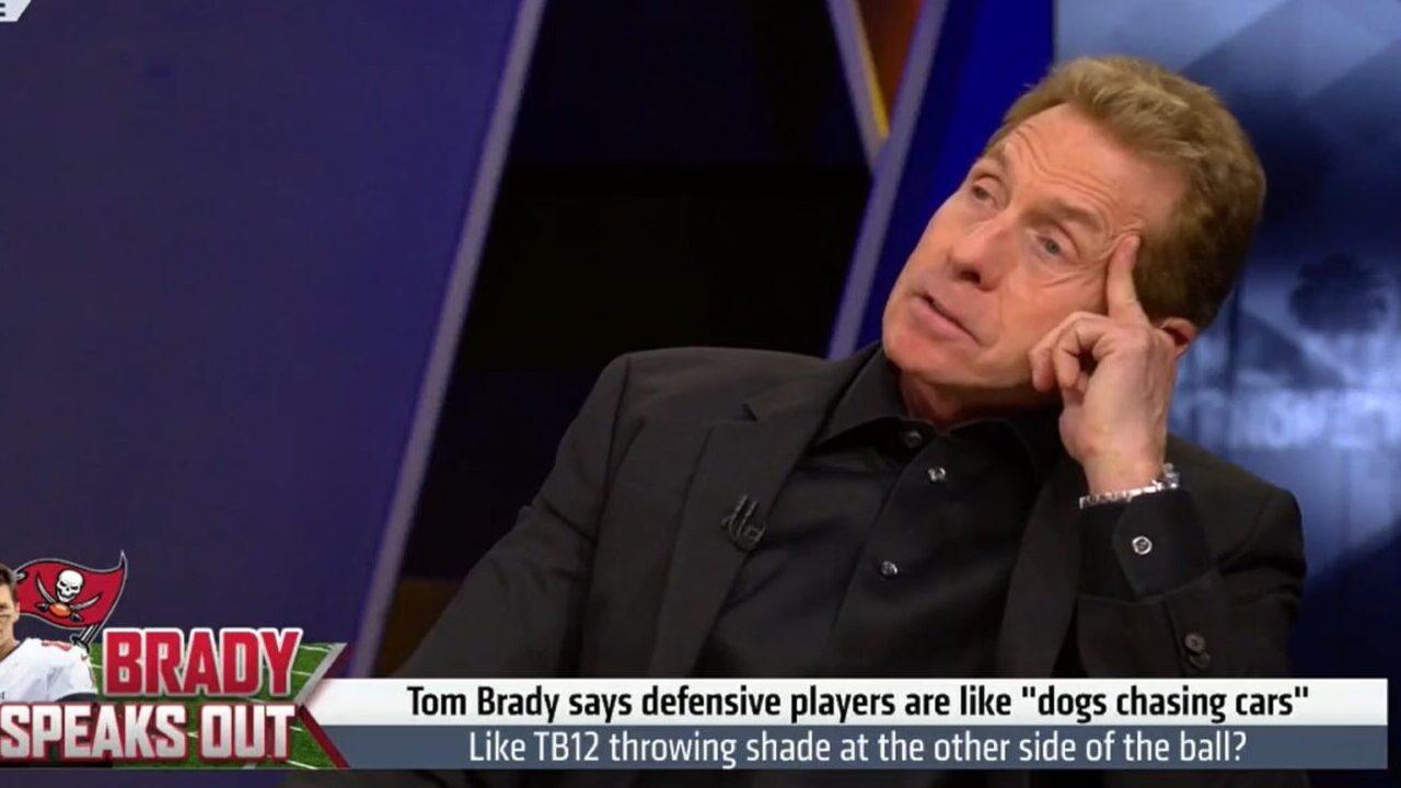 Skip Bayless blasts Tom Brady