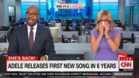victor blackwell and alisyn camerota talking about new adele song