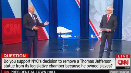 Biden Weighs In on NYC Jefferson Statue