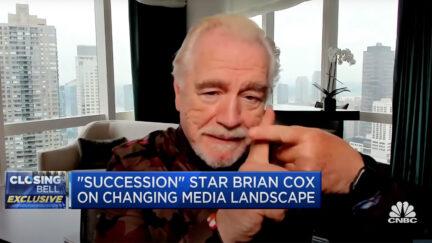 Brian Cox Talks US Cable News