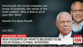 Colin Powell Interview With Bob Woodward